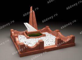 ЗD модель памятника - 001