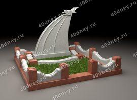 3d памятник на могилу - 008