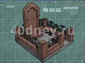 Эскиз памятника. Пример - 1
