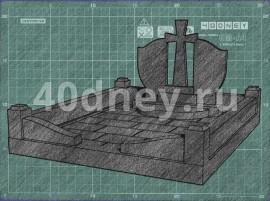 Эскиз памятника. Пример - 8