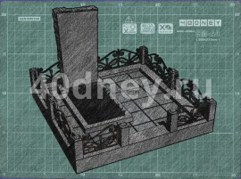 Эскиз памятника. Пример 12