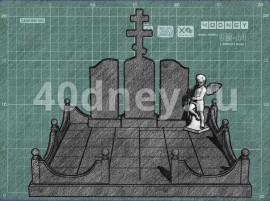 Эскиз памятника. Пример 15