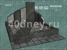 Эскиз памятника. Пример 17