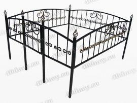 Кованая ограда Грань
