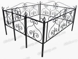 Кованая ограда Гранат