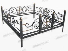 Кованая ограда Грот