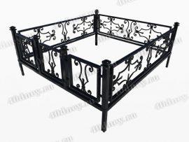 Кованая ограда Корсар