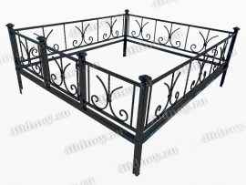 Кованая ограда Лилия