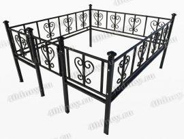 Кованая ограда Лира