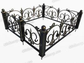 Кованая ограда Ода