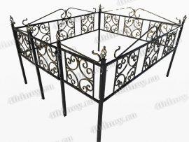 Кованая ограда Верба