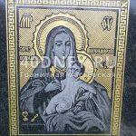 Фото иконы на памятнике №05