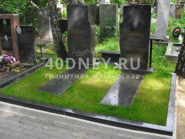 Искусственная трава для кладбища