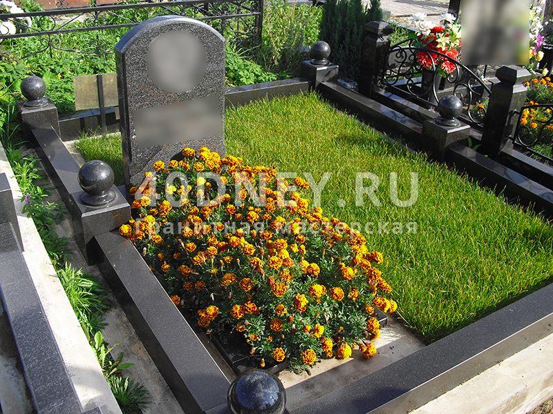 Цветник на кладбище своими руками 492