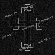 Крест №Д037