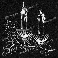 Свеча на памятник №Д225