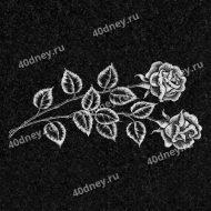 Цветы на памятник №Д120 (Розы)