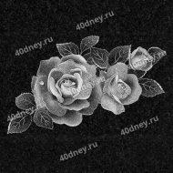 Цветы на памятник №Д130 (розы)