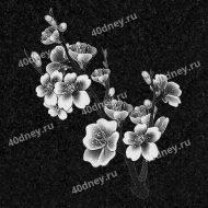 Цветы на памятник №Д133 (цветки яблони)