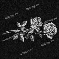 Цветы на памятник №Д134 (розы)