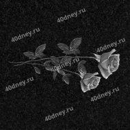 Цветы на памятник №Д136 (розы)