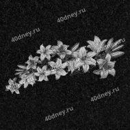 Цветы на памятник №Д150 (лилии)