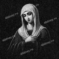 Гравировка №Д454 - Дева Мария