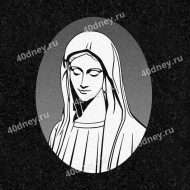 Гравировка №Д456 (Дева Мария)