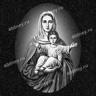 Святые на памятник №Д459 (Богородица с младенцем Иисусом)
