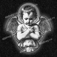 Изображение ангела на памятник №Д469