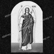 Изображение Архангела Михаила для нанесения на памятник №Д473