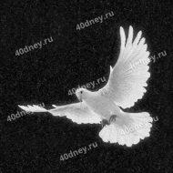 Летящий голубь на памятник №Д256