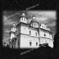 Мгарский монастырь - гравировка на памятник №Д601