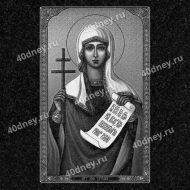 Икона на памятник №Д303 (Святая мученица Татьяна)