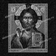 Икона с Иисусом Христом для гравировки на памятнике №Д305