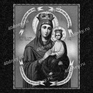 Икона на памятник №Д315 (Богоматерь с младенцем Иисусом)