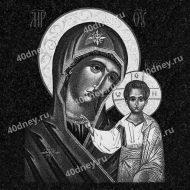 Икона на памятник №Д322 (Казанская Божья Матерь)