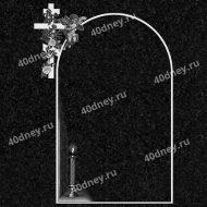 Гравировка рамки на памятник №Д581 (С крестом и ангелом)