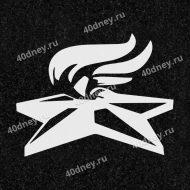Гравировка военной тематики №Д358 (Вечный огонь)