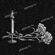 Подсвечник с тремя свечами для гравировки №Д206
